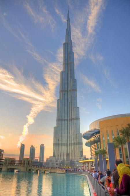 Burj Khalifa Korkeus
